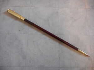 Vintage Us Army Officer Swagger Stick Militaria
