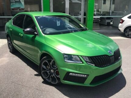 2017 Skoda Octavia NE MY18 RS DSG 169TSI Green 6 Speed Sports Automatic Dual Clutch Wagon
