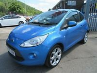 Ford KA 1.2 ZETEC 3d 69 BHP finance from as little £25 week (blue) 2009
