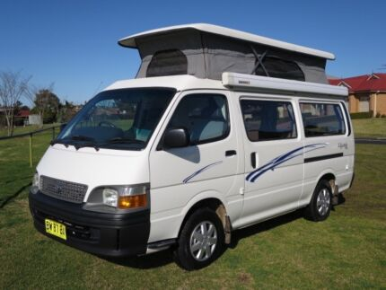 Toyota Hiace Pop Top Campervan – ONLY 59,000KMS!!! Glendenning Blacktown Area Preview