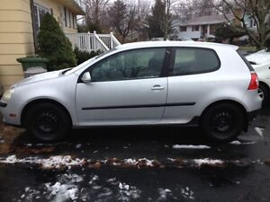 2007 VW Rabbit and RIMS