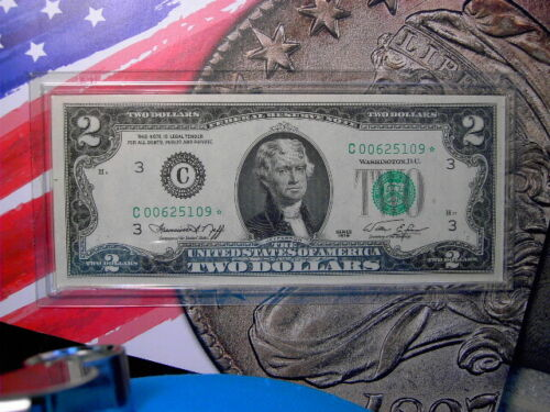 1976 $2. Federal Reserve Note STAR*  Crisp Uncirculated...Looks like GEM !!