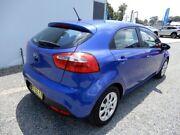 2013 Kia Rio UB MY14 S Purple 4 Speed Sports Automatic Hatchback Glendale Lake Macquarie Area Preview
