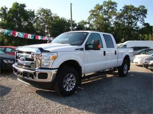 2015 Ford Super Duty F-350 Crew XLT 4X4 Only 18,000 KMs