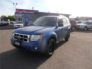 2009 Ford Escape XLT MANUAL LOADED LOW PRICE LOW PAYMENTS