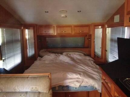 Family Caravan triple bunks