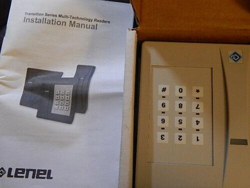UTC Fire & Security GE INTERLOGIX Transition Series Keypad CardReader T-525SW