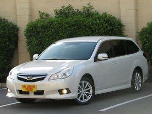 2011 Subaru Liberty B5 MY11 2.5i Lineartronic AWD White 6 Speed Constant Variable Wagon Blair Athol Port Adelaide Area Preview