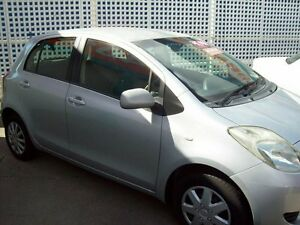 2006 Toyota Yaris NCP90R YR Silver 5 Speed Manual Hatchback Capalaba West Brisbane South East Preview