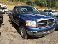 2006 DODGE 1500 SLT QUAD CAB 4X4 HEMI POWER LOW KM