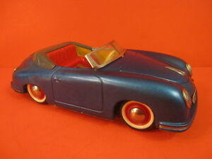 ALL ORIGINAL DISTLER PORSCHE 356 DARK METALLIC BLUE GERMANY 1955