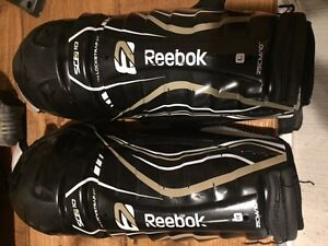 Youth Hockey Bag and Shin Pads