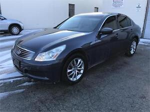 2009 INFINITI G37X AWD NO ACCIDENT/TINTED