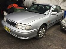 2000 Toyota Avalon MCX10R CSX Silver 4 Speed Automatic Sedan Jewells Lake Macquarie Area Preview