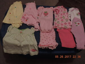 "Girl's 0-3months Carter's ""Lot"" of Summer Clothes"