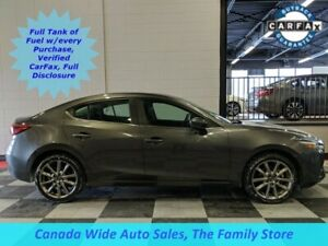 2018 Mazda Mazda3 GT, Navigation, Sunroof, Back Up Camera