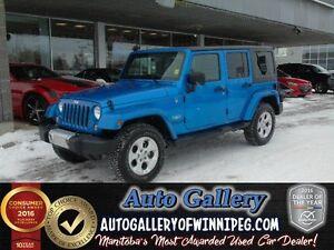 2014 Jeep Wrangler Unlimited Sahara *4x4/Nav/Lthr