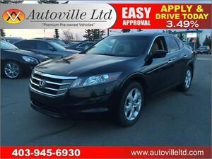 2010 Honda Accord Crosstour EX-L AWD, LEATHER, SUNROOF