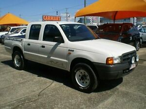 1999 Ford Courier White Manual 4x4 Crewcab Woodridge Logan Area Preview