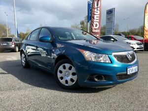 2012 Holden Cruze JH Series II MY12 CD Blue 6 Speed Sports Automatic Sedan Clarkson Wanneroo Area Preview