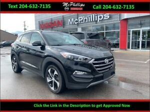 2016 Hyundai Tucson 1.6 T Limited - LEATHER / NAV / SUNROOF