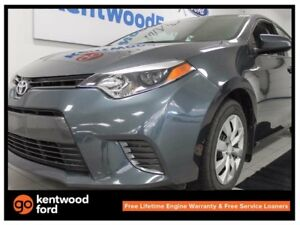 2016 Toyota Corolla LE- heated comfortable seats and back up cam