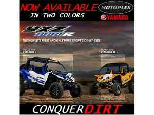 2016 Yamaha YXZ 1000R NOW AVAILABLE IN TWO COLORS
