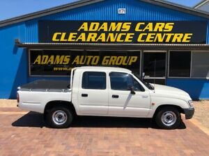 ABSOLUTELY BEAUTIFUL INSIDE AND OUT 2003 MANUAL 2WD TOYOTA HILUX DUAL CAB Eagle Farm Brisbane North East Preview