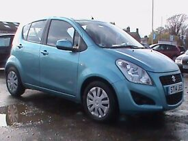 SUZUKI SPLASH 1.0 SZ2 5 DR BLUE 1 YRS MOT CLICK ON VIDEO LINK FOR MORE DETAILS OF THIS CAR