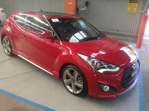 2014 Hyundai Veloster FS2 Coupe Red 6 Speed Manual Hatchback Maryville Newcastle Area Preview