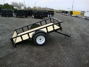Tilting Utility Trailers – Now in Stock at Miska