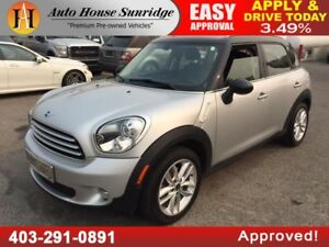 2012 MINI COOPER COUNTRYMAN PANORAMIC ROOF