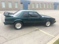 1992 ford mustang 5.0L 5 spd coupe
