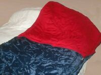 Three Sleeping Bags, hardly used.