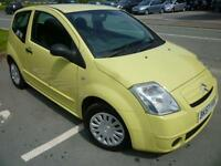 2007 Citroen C2 1.1i Cool yellow 42509 Miles Shrewsbury