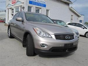 2010 INFINITI EX35 Clean Carproof Leather AWD  Sunroof Backup