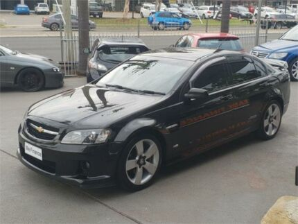 2007 Holden Commodore VE SS V Black Manual Sedan Lansvale Liverpool Area Preview