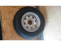 ST 225/75D15 6 bolts Trailer Wheels and tires