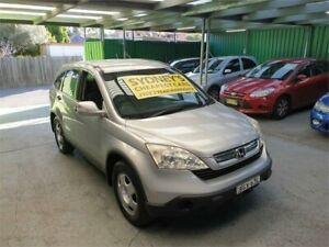 2008 Honda CR-V RE MY2007 4WD Silver 6 Speed Manual Wagon Croydon Burwood Area Preview