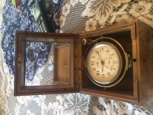 Antique U.S. Navy Longine chronometer 1919
