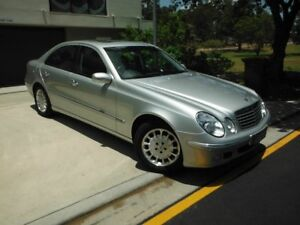 2002 Mercedes-Benz E240 ELEGANCE Silver 6 Speed Automatic Sedan Kedron Brisbane North East Preview