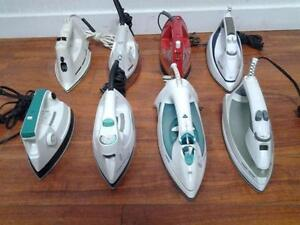 selections de  Fers à repasse - Irons MODERN ANTIQUE VINTAGE - GE SUNBEAM SEARS KENMORE LG BLACK and DECKER T-FAL SHARK