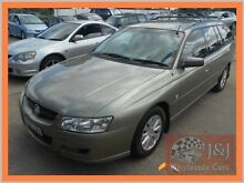 2005 Holden Commodore VZ Acclaim Green 4 Speed Automatic Wagon Warwick Farm Liverpool Area Preview