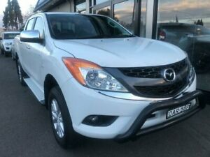 2015 Mazda BT-50 UP0YF1 GT White 6 Speed Sports Automatic Utility West Tamworth Tamworth City Preview