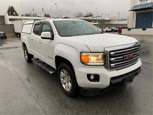 2017 GMC Canyon 4WD SLE V6 W/ CANOPY & TRAILER PACKAGE