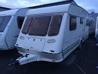 1995 Fleetwood Crystal 165/5. Superb Family 5-6 Berth in Immaculate Condition.