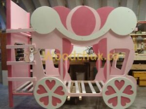 ♥‿♥ ... CINDERELLA CARRIAGE Twin over Twin BUNK BED .. ♥‿♥