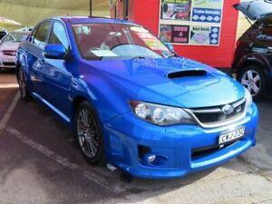 2012 Subaru Impreza G3 MY12 WRX AWD Blue 5 Speed Manual Sedan Minchinbury Blacktown Area Preview