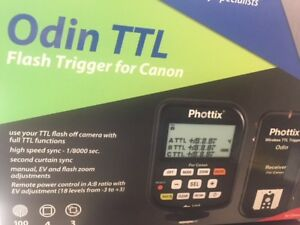 Phottix Odin TTL Wireless Flash Trigger Set v1.5 for Canon