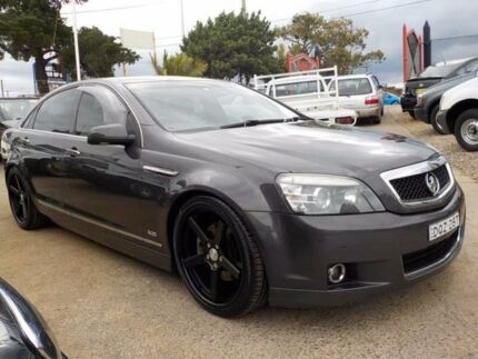 2007 Holden Caprice WM Grey 6 Speed Sports Automatic Sedan North St Marys Penrith Area Preview